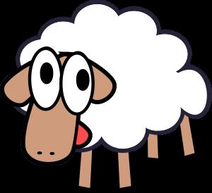 white-stupid-cute-cartoon-sheep-300px